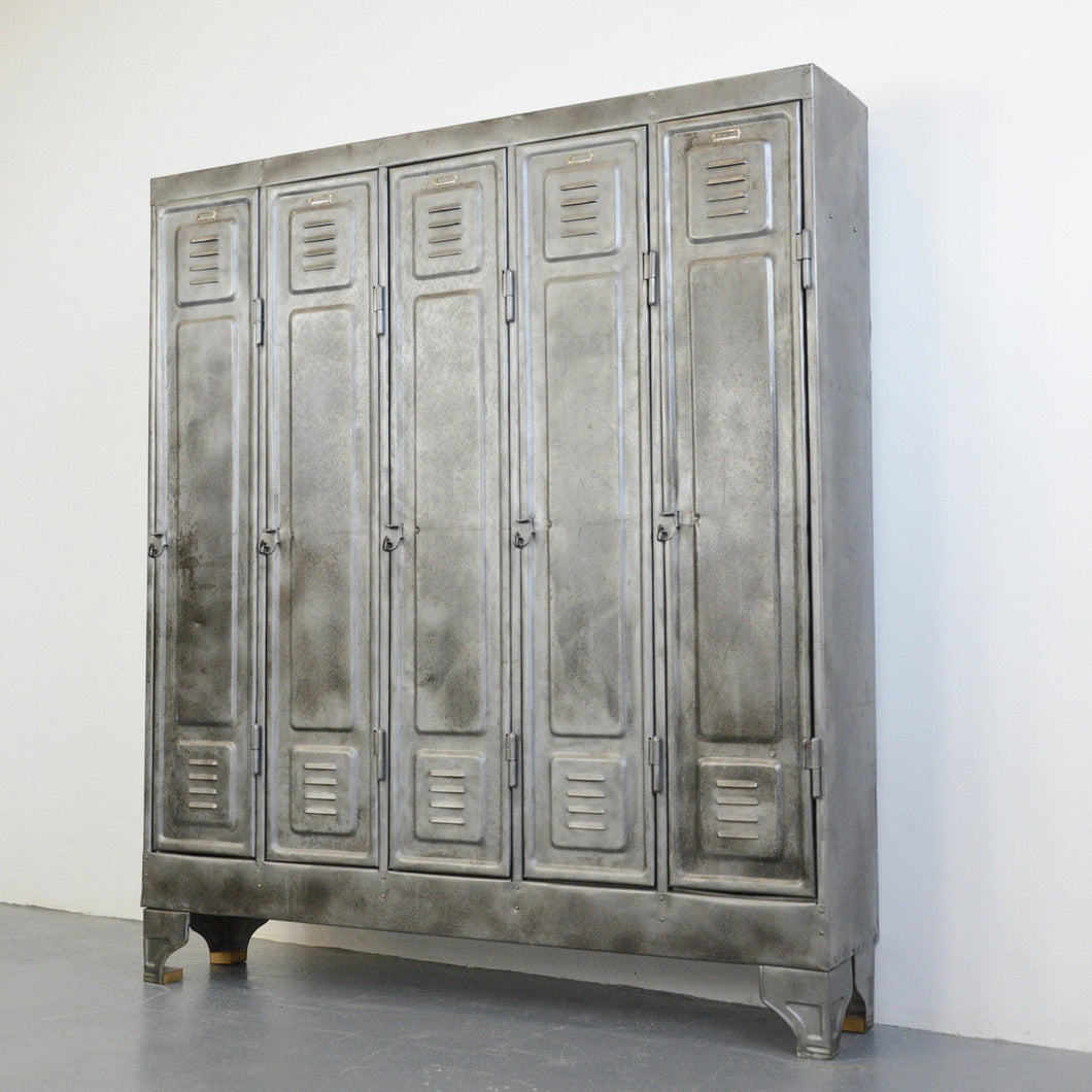 German Industrial Lockers Circa 1930s