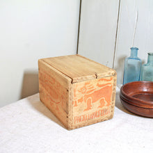 Load image into Gallery viewer, Vintage Wooden Tea Box from Sri Lanka