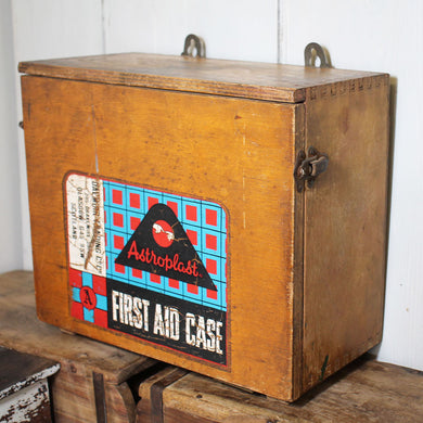 1930s Wall Mountable First Aid Box