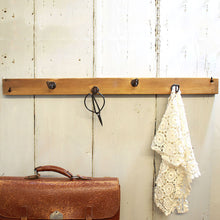 Load image into Gallery viewer, Reclaimed Wood Coat Rack