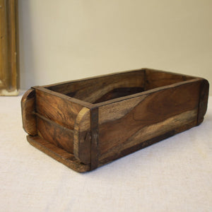 Vintage Wooden Indian Brick Mould - M2