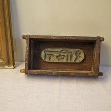 Load image into Gallery viewer, Vintage Wooden Indian Brick Mould - M2