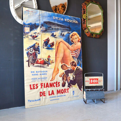 Original Movie Poster - Les Fiances de la Mort 1960