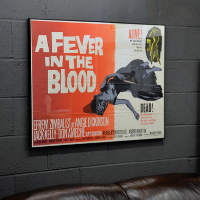 Original Movie Poster - A Fever in the Blood 1961