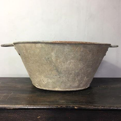 Galvanised Vintage Planter