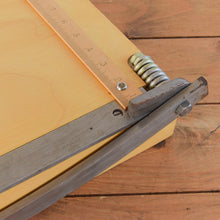 "Load image into Gallery viewer, Vintage Large 18"" Johnsons of Hendon Guillotine Paper Trimmer"