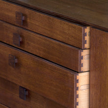 Load image into Gallery viewer, African Teak Sideboard Credenza by Kafod-Larsen for G Plan