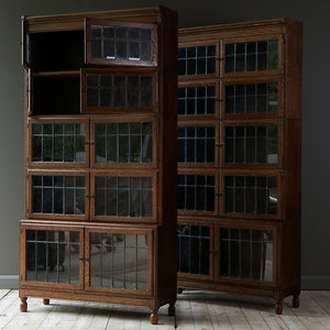 Antique Oak Bookcase by Minty