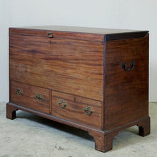 Load image into Gallery viewer, Mid 18th Century George II Mahogany Mule or Marriage Chest