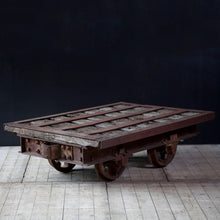 Load image into Gallery viewer, Original Miners Cart Coffee Table