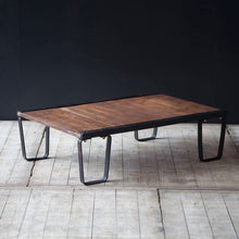 Load image into Gallery viewer, Vintage Industrial Pallet Coffee Table