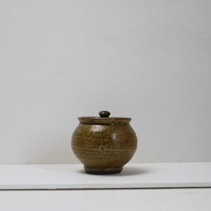 SALT GLAZE SUGAR POT