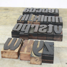 Load image into Gallery viewer, Italian Letterpress - Lowercase