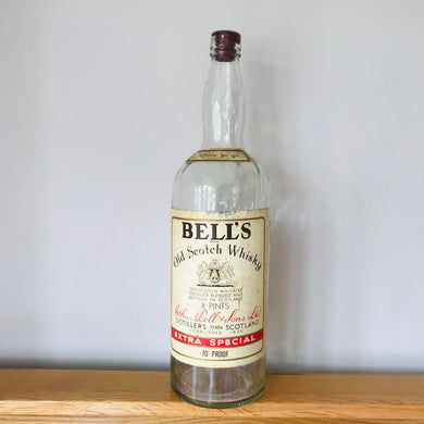 1970s Vintage Bottle Of Extra Special Bells Old Scotch Whisky