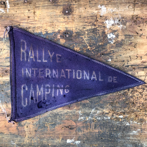 1934 Camping Rally Pennant