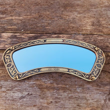 Load image into Gallery viewer, Vintage Brass Framed Small Mirror [221/4586] #3