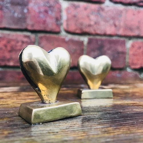 Vintage Brass Place Card / Photo Holders