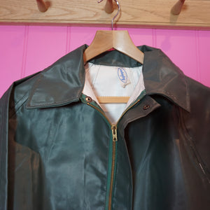 Dead Stock French Rubberised Raincoat