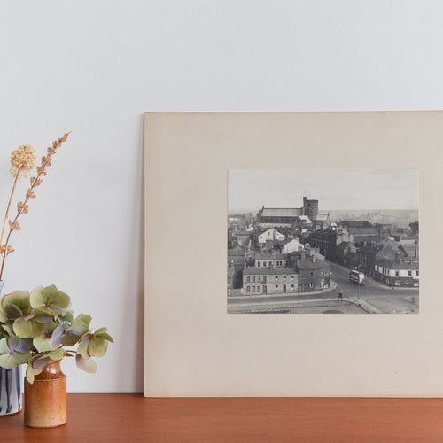 Vintage Original Photograph of Carlisle Cathedral by Photographer Ian Reeves Titled 'The Cathedral' Cumbria