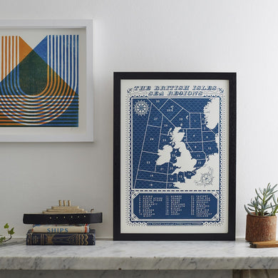 Information Print - The British Isles Sea Regions