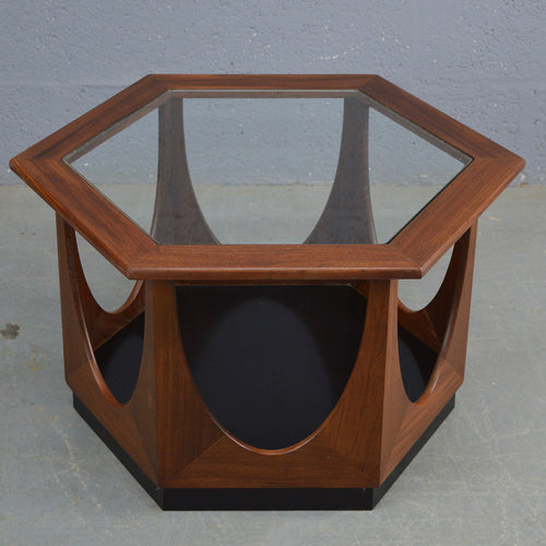 Mid Century Hexagonal Coffee Table By G Plan
