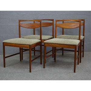 Mid Century Dining Chairs by McIntosh