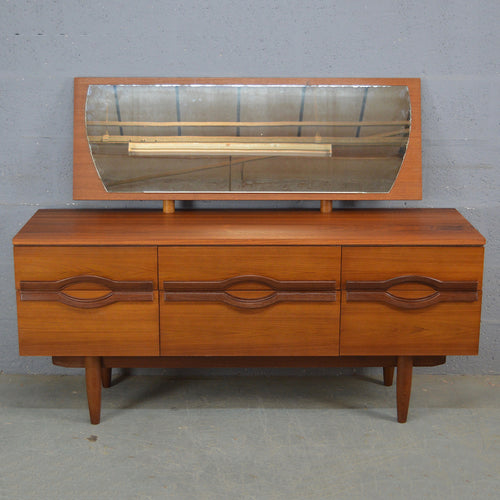 Mid Century Teak Dressing Table.