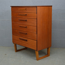 Load image into Gallery viewer, Mid Century Chest of Drawers by Schreiber
