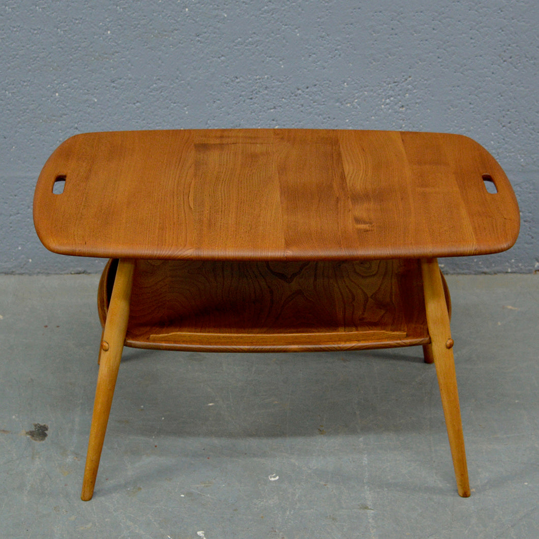 Mid Century Coffee Table Butlers Tray by Ercol