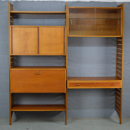 Mid Century Ladderax Wall Unit.