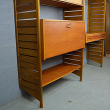 Load image into Gallery viewer, Mid Century Ladderax Wall Unit.