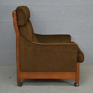 Mid Century Sofa and Chair by Cintique