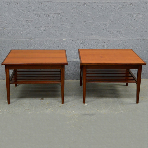 Mid Century Vintage G Plan Side Tables