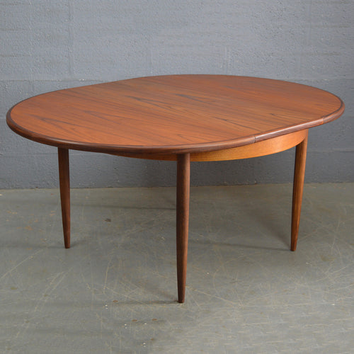 Mid Century Vintage Round G Plan Dinning Table