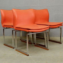 Load image into Gallery viewer, Mid Century Epee Dining Chairs by Pieff
