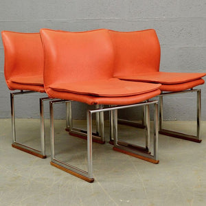 Mid Century Epee Dining Chairs by Pieff