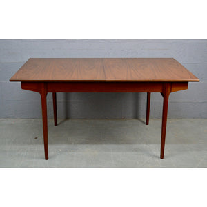 Mid Century Teak Dining Table by Bath Cabinet Makers