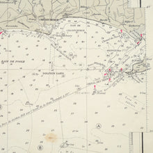 Load image into Gallery viewer, Vintage Nautical Chart - Entrance to the Needles Channel