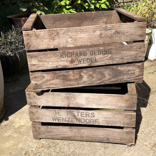 Wooden Nursery Crate