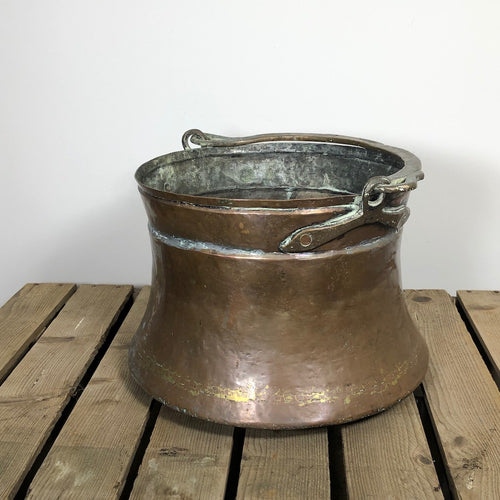 Large Copper Cauldron Pot - 3
