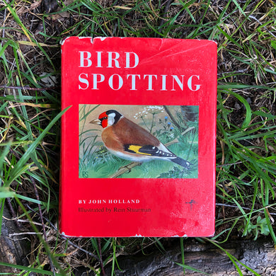 Bird Spotting Book by John Holland