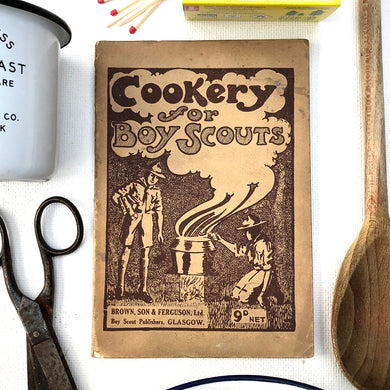 Cookery for Boy Scouts Book 1929