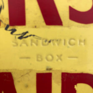 First Aid Sandwich Box