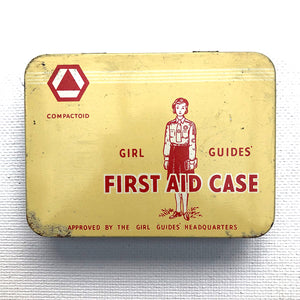 Girl Guides First Aid Case