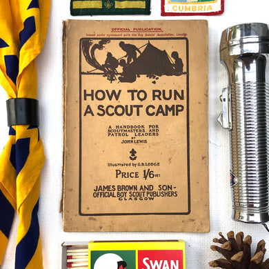 How to Run A Scout Camp Book 1920
