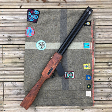 Wooden Shotgun Toy