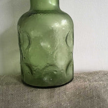 Load image into Gallery viewer, Retro Green Belgian Decanter