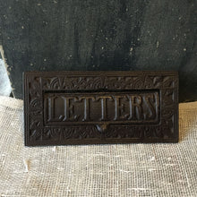Load image into Gallery viewer, Cast Metal Letter Box