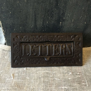 Cast Metal Letter Box