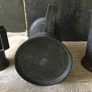 Set of Six Vintage Lead Measures
